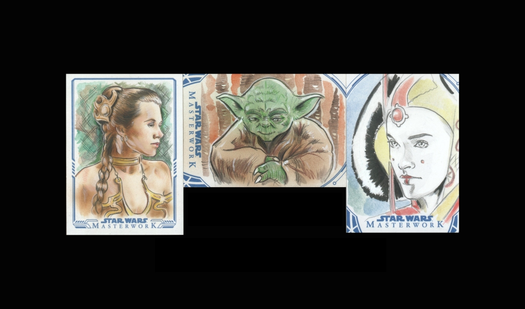 Topps Star Wars Collectible Cards